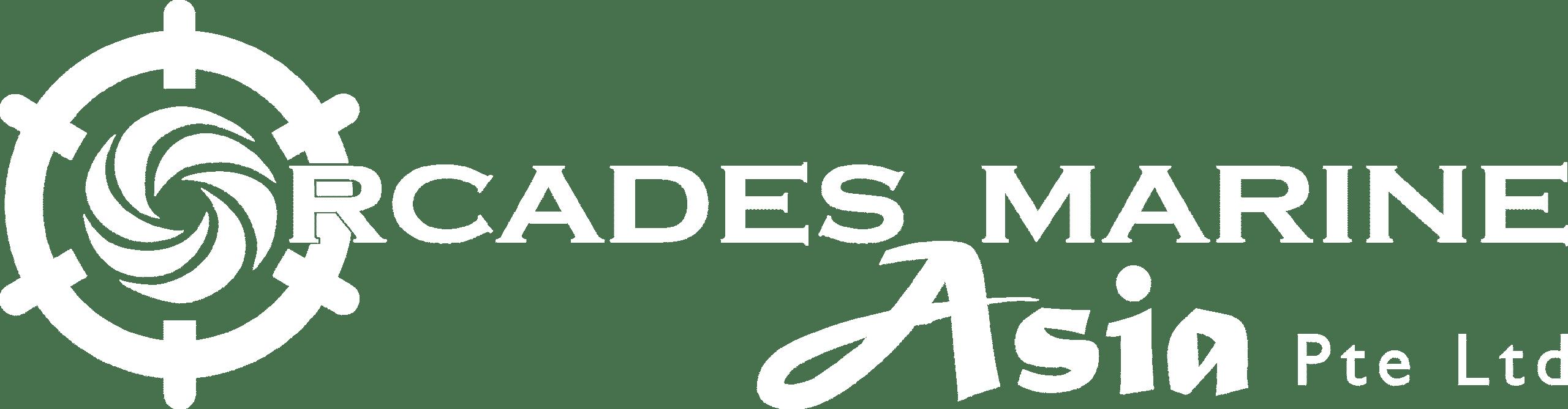 Orcades Marine Asia White logo